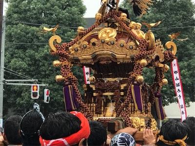 秋ですね〜八幡神社のお祭りが終わったらランニングシーズンの始まりです〜