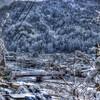 HDR画像 - 三朝温泉 in winter