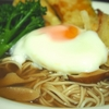 寒い日に!めんつゆで簡単、生姜あんかけそばのレシピ!