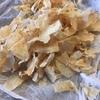 和梨の乾燥チップを作る。
