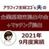 【企業型確定拠出年金+マッチング拠出】2021年9月度実績を公開