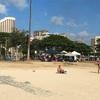 アラモアナビーチパークでBBQ