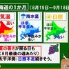 やっぱり今年も暑くなりそうな、北海道マラソン当日の天気