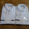 【超おススメ】ファインクロススーパーノンアイロンスリムフィットシャツ(セミワイド)
