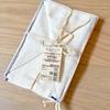 【無印良品】手のひらサイズの小さめ雑巾「小ぞうきん」が使えます!