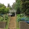 竹原神社の紫陽花・・①