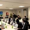 外交部会、外交調査会合同会議へ出席