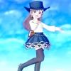 【クラシカルトップス】でブルーなフェミニンコーデ