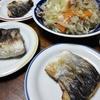 お魚と野菜炒め