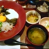 大戸屋風ばくだん丼(外食)