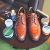 カビの生えた革靴はどこまで綺麗になるのだろうか