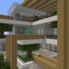 【Minecraft】駅前に商業施設を建てる 【コンパクトな街をつくるよ4】