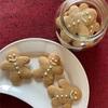 ジンジャーブレッドクッキーとカマスの塩焼き、茄子素麺