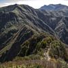 谷川連峰 紅葉の大源太山