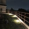庭の照明-マリンランプなど-