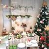 《アーティス1階》クリスマスのテーブルコーディネートをご提案!「暮らしの花歳時記-和ごころ-」