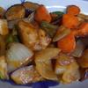 幸運な病のレシピ( 1876 )夜:仕入れ(買い出し)、酢豚、鶏の唐揚げ、カブ菜汁