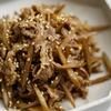 牛肉とごぼうのしぐれ煮のレシピ