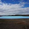 発見!アイスランドの青い池