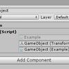 【Unity】Inspector のパラメータの欄に GetComponent ボタンを追加する Attribute