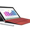 新型「Surface 3」正式発表~Windows 8.1、Atom x7-Z8700、10.8型1920×1280、LTE搭載モデルも