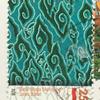 バティックの切手