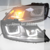 2、For VW New Jetta MK6 LED Headlight U type SY With HID kit in low beam