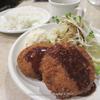 肉の大山のミックスコロッケ定食500円が旨い@肉の大山 上野店 9回目