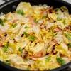 ウインナーとキャベツのアロス(炊き込みご飯)のレシピ