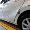 アクア(ドア・リアクォーターパネル)キズ・ヘコミの修理料金比較と写真 初年度H25年、型式NHP10
