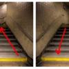 地下鉄の階段、正しい歩き方はドッチ!?