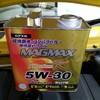 コペンのオイル交換をした(MAGMAX premiumK 5W-30)。