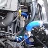 ジムニー JB23W 9型 水温計センサー取り付け&シリコンラジエターホースに交換