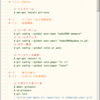 Linux系の技術書のメモを取るときのさくらエディタ、カラー設定