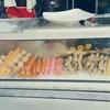 タイの市場・道端で売ってる串揚げ