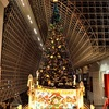 京都駅ビルのクリスマスツリー2017。