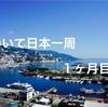 歩いて日本一周1ヶ月目