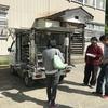 池谷集落に、多分初めて移動販売車が来た!