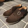 【男性ミニマリストの持ち物①】シンプルな革靴。ドクターマーチンのシングルモンク