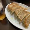 東京都板橋区大谷口上町の焼き餃子と疑似ビール