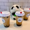 タピオカドリンク「PANDA TEA」可愛いパンダがお出迎え