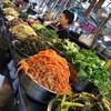 広蔵市場で野菜たっぷりビビンバ