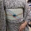 博多織り半幅帯🎵
