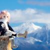 冬の霧ヶ峰、車山高原はドール撮影に最適だった!?