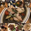 【浜町中の橋交差点】富士屋本店日本橋浜町:ヤリイカに牛レバーの軽い炙りそしてココット飯、定番の美味しさ