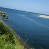 川が海に変わる場所