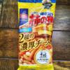 チーズ好きの方にオススメ!『亀田の柿の種 2種の濃厚チーズ味』