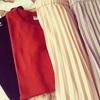 ユニクロでこの夏買うべきアイテムはシフォンプリーツスカートとリブクルーネックT!