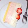 春のハーブスで念願のストロベリーケーキを2種