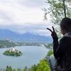 スロベニア🇸🇮湖に浮かぶ城 ブレット湖へ
